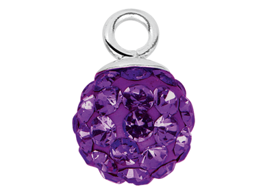 Purple Zirconia ball