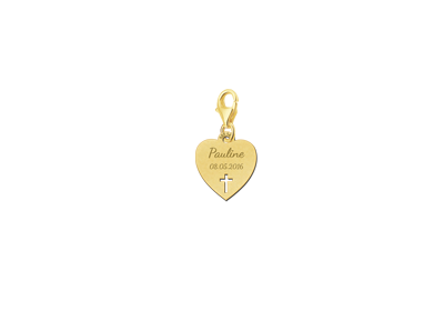 Golden communion charm