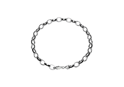 Silver Charm Bracelet For Kids 16 cm