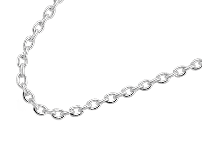 Silver Fantasy Necklace 80cm