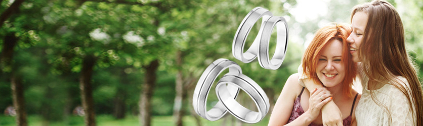 Couples Rings Silver